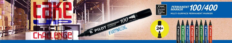 Μαρκαδόροι Pilot Permament Marker 100/400
