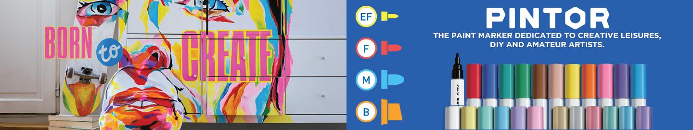 Pilot Pintor creative paint markers