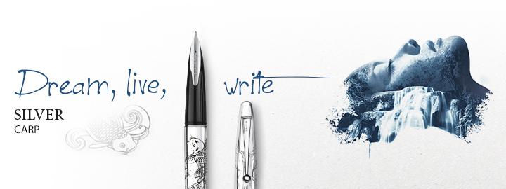 Pilot - Fine writing - Silver carp