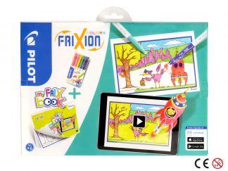 FriXion χρωματιστά - σειρά My FriX βιβλίο x 6 - Ποικιλία Χρωμάτων - Μεσαίο Άκρο