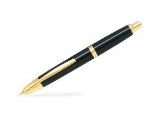 Capless Χρυσό - Μαυρο - Λεπτό Άκρο - κουτί δώρου