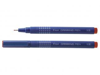 Drawing Pen 08 - Fineliner Marker pen - Red - Extra Broad Tip