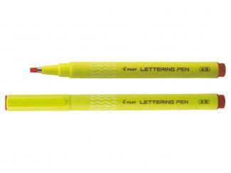 Lettering Pen 30 - Στυλό Μαρκαδόρος για Λεπτές Γραμμές - Κοκκινο - Ευρύ Άκρο
