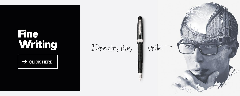 Fine Writing Pilot: Dream, live, Write
